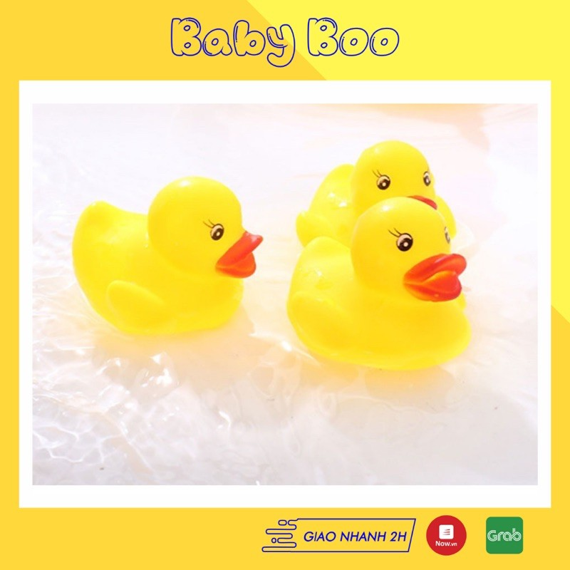 Babyboo- Đồ chơi vịt con thả chậu tắm ngộ nghĩnh