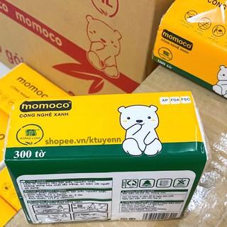 Khăn giấy gấu trắng MOMOCO dai mịn công nghệ xử lý xanh 4