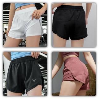 Quần tập gym nữ, quần đùi nữ lưng cao co giãn thời trang Anna