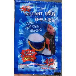 [RẺ VÔ ĐỊCH-HÀNG CÓ SẴN]TUYẾT BẠC tuyết nhân tạo ( gói tuyết siêu mịn) dùng làm cloud slimeq
