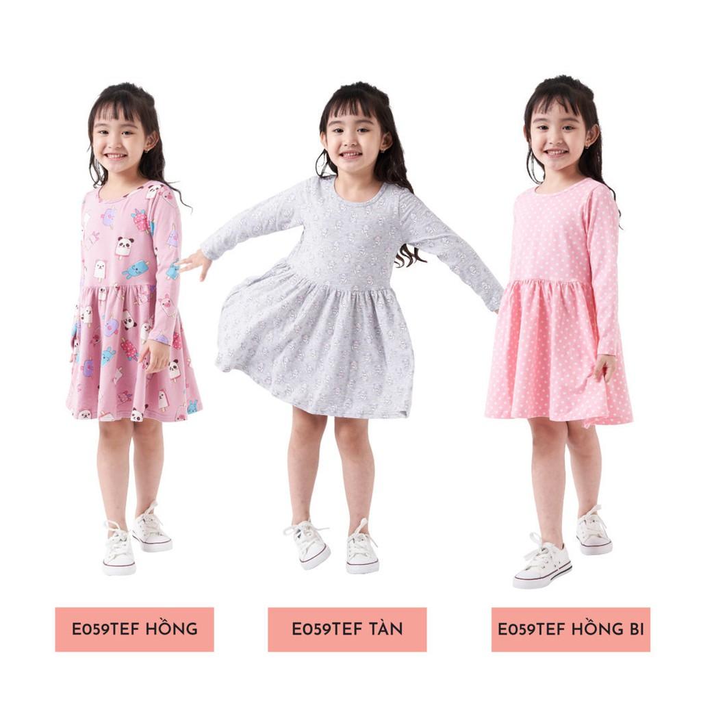 Váy Dài Tay Bé Gái (1-9 Tuổi) K's Closet E028TEF / E048TEF / E049TEF/ E059TEF TM