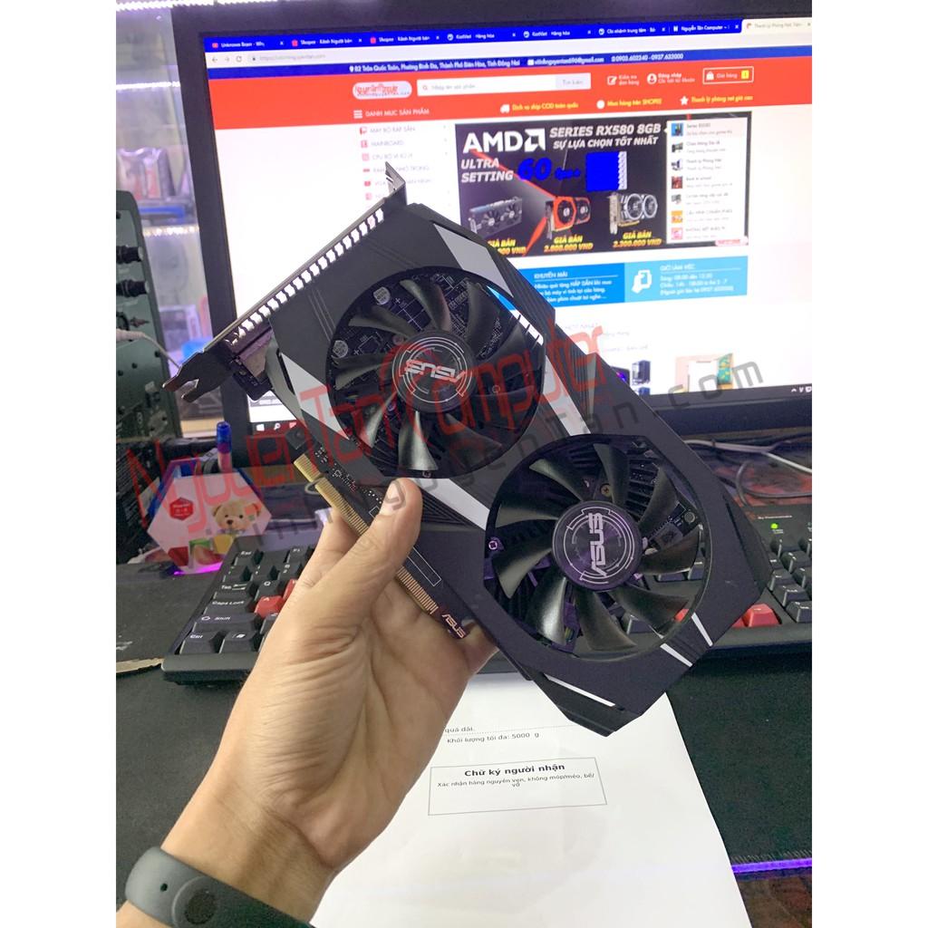 VGA ASUS GTX1050Ti 4GD5 DUAL OC – BẢO HÀNH CHÍNH HÃNG 01/2021 Giá chỉ 2.700.000₫