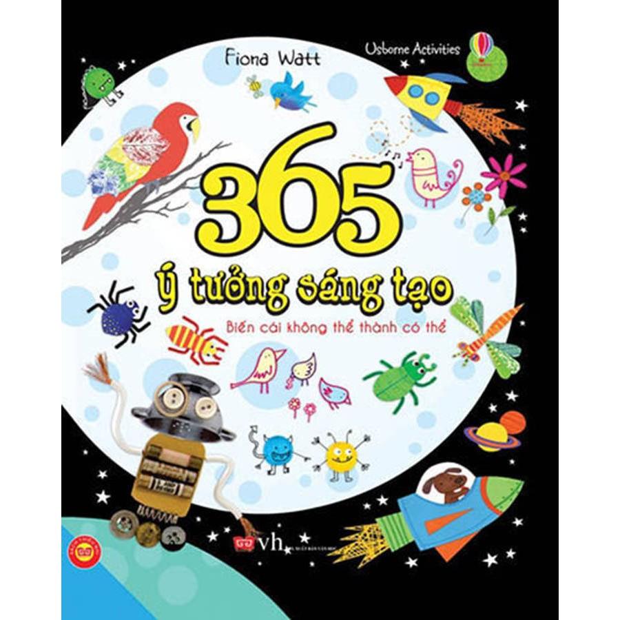 Sách - 365 ý tưởng sáng tạo - Biến cái không thể thành có thể