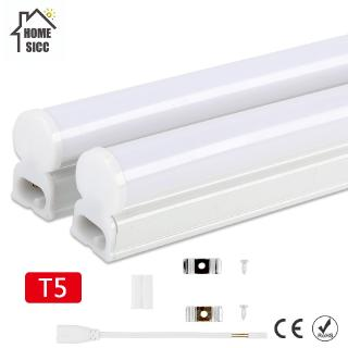 🔥LED Tube T5 Lamp 110V 220V 240V PVC Plastic Fluorescent Light 30cm /60cm 6W 10W