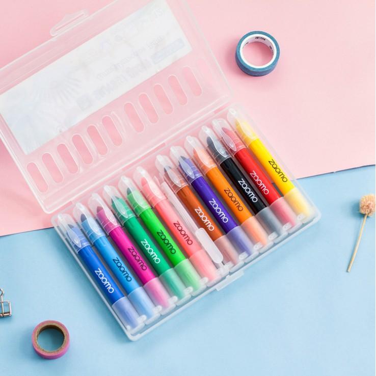 Bộ 12 bút sáp vặn Crayon
