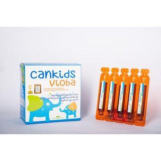 Bộ 2 hộp cankid vioba - Giải độc gan, trị mồ hôi trộm, rôm sảy, mụn nhọt ở trẻ, tăng cường sức đề kh