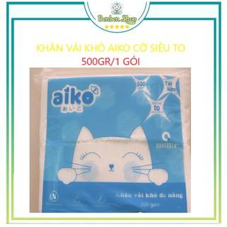 1 gói Khăn vải khô đa năng AIKO 500gam- 18cm x20cm