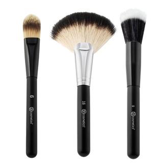 BỘ CỌ BH COSMETICS Blending Face Trio - 3 Piece Brush Set thumbnail