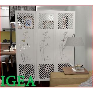 Bình phong cây trúc IGEA(1 tấm kèm 2 chân) - IG481