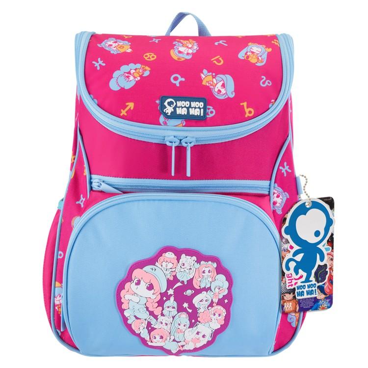 Ba Lô Chống Gù Lớp Học Mật Ngữ Multi Pink Magic cho bé - HooHooHaHa