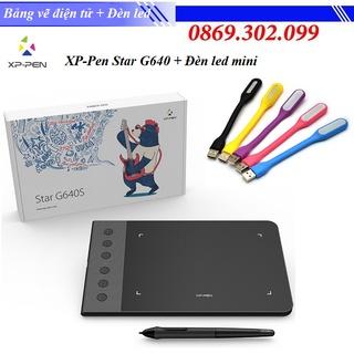 [ Chính hãng ] Bảng Vẽ Điện Tử XP-Pen Star G640 Siêu Mỏng Tặng Kèm Đèn led mini cổng USB siêu sáng thumbnail