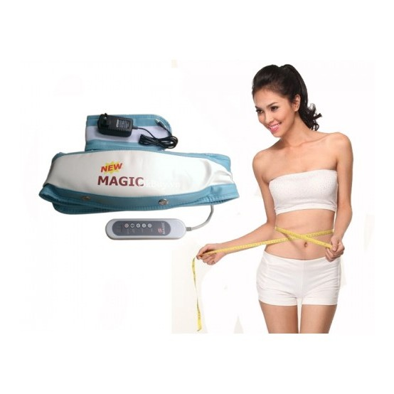Đai Masage Giảm Béo 2in1 New Magic