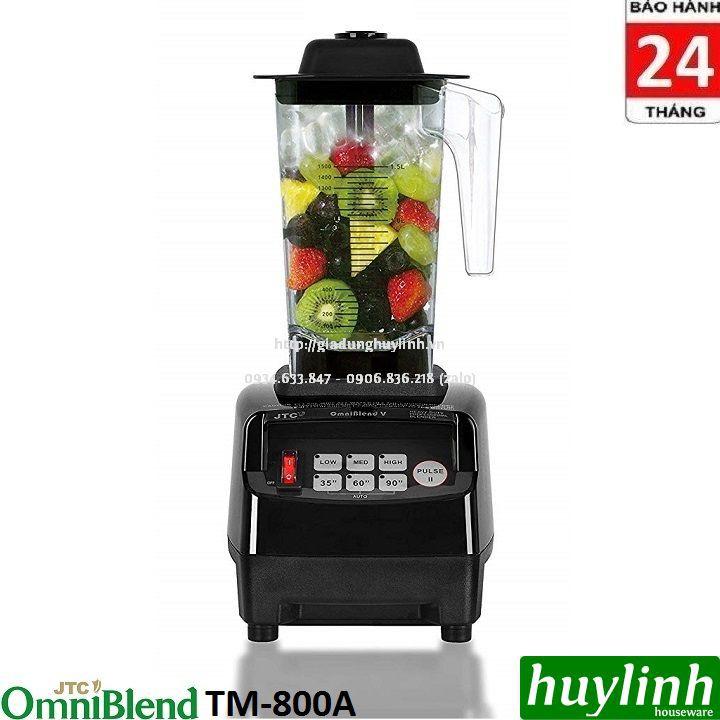 Máy xay sinh tố công nghiệp OmniBlend V-TM800A