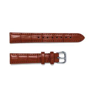 Dây Đồng Hồ Da Vân Cá Sấu Size 16mm 18mm 20mm 22mm