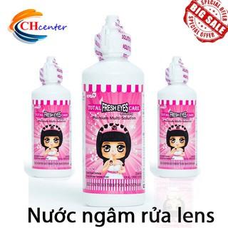 Nước ngâm lens Hàn Quốc chai lớn 150ml_Nước rửa lens _ CHcenter
