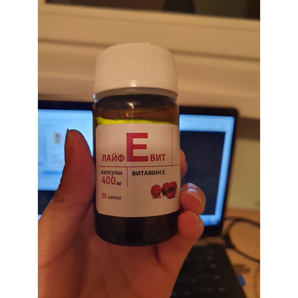 Vitamin E đỏ Zentiva 400mg của Nga
