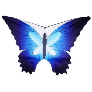 Blue butterfly kite+30M line (A) blue butterfly kite+30M line O3Y0