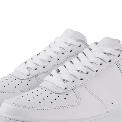 Dây giày thể thao dây giày dẹt trắng đen dài 120 cm