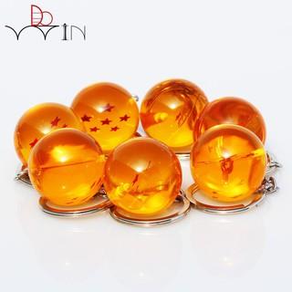 1pc Dragon Ball Z crystal balls 7 Stars Crystal Balls Keychain
