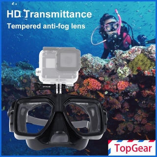 Water Sports Equipment Diving Mask Swimming Glasses for DJI Osmo Action Camera for GoPro HERO7/6/5 Session/Xiaoyi