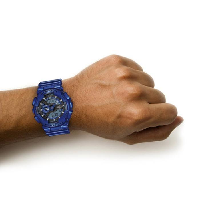Đồng hồ nam dây nhựa G-SHOCK chính hãng Casio Anh Khuê GA-110NM-2ADR