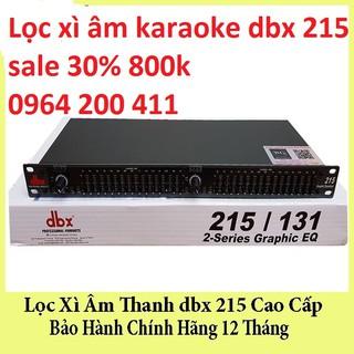 Lọc xì âm karaoke dbx 215