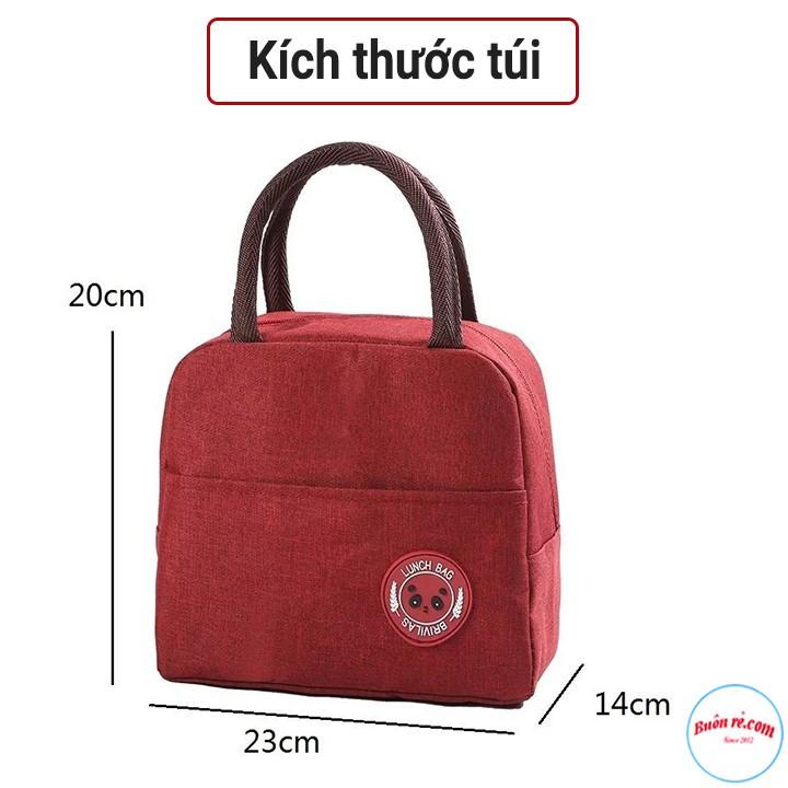 Túi Giữ Nhiệt Đựng Hộp Cơm Cao Cấp Lunch Bag Chống Thấm Nước 00991