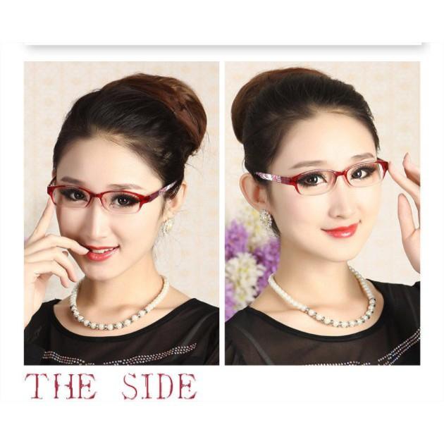 Kính lão thị viễn thị nữ giới Nhật bản cao cấp siêu sáng và thời trang