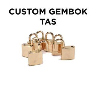 Túi đựng dây chuyền vòng đeo cổ có khóa màu trơn thumbnail