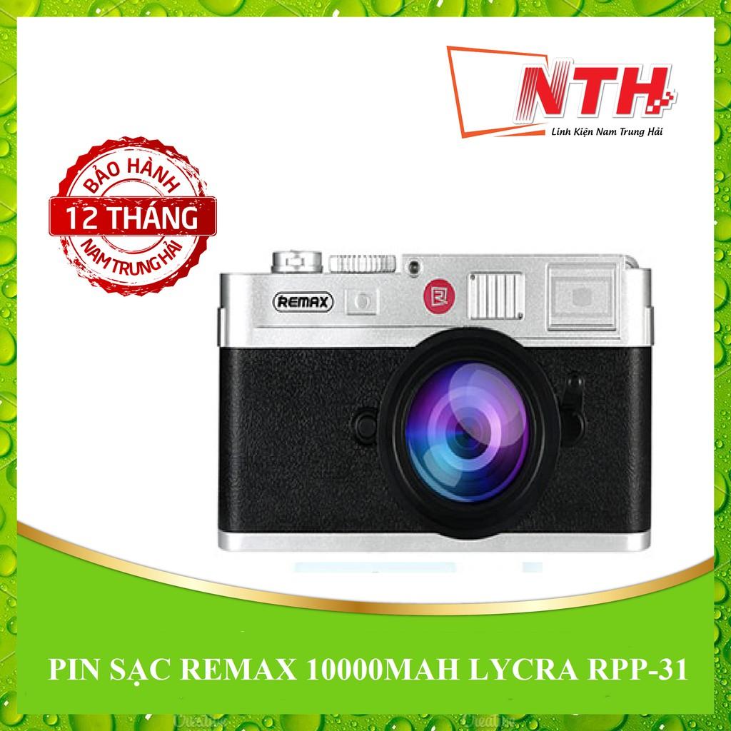[NTH] PIN SẠC REMAX 10000MAH LYCRA RPP-31
