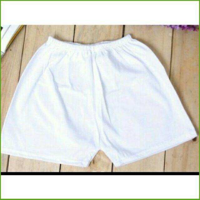 (Siêu Phẩm) Sét 5 quần ngắn trắng sơ sinh cho bé hiệu Bosinis