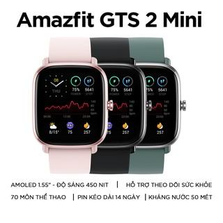 """Đồng Hồ Thông Minh Amazfit GTS 2 Mini - Hàng Chính Hãng - Bảo Hành 12 Tháng giá chỉ còn <strong class=""""price"""">209.000.000.000đ</strong>"""