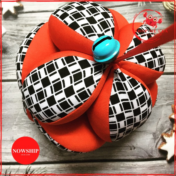 Bóng vải montessori/ Bóng múi luyện chân cho bé/ đồ chơi trẻ sơ sinh