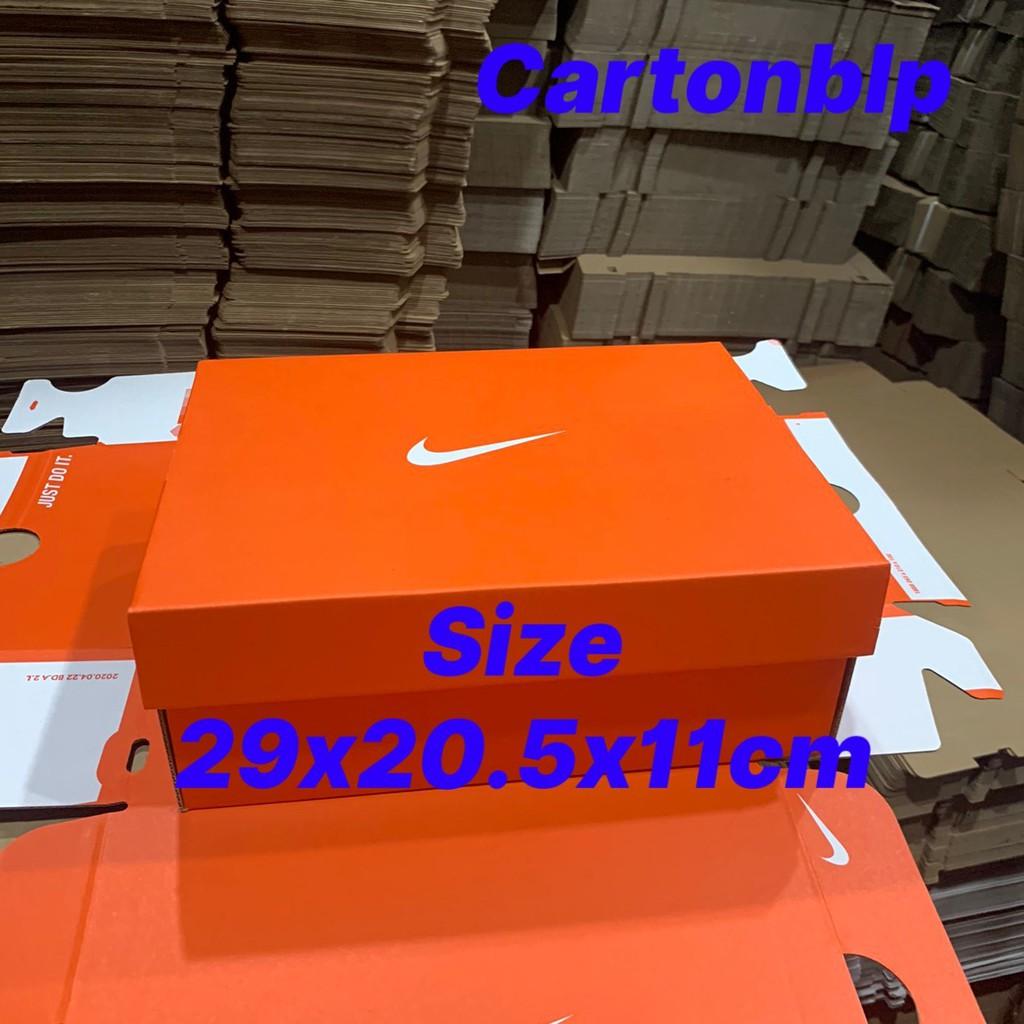 Hộp đựng giày nike size 29x20.5x11cm Màu Cam