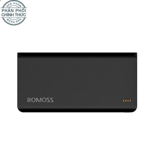 Pin sạc dự phòng Romoss Solit 20 20000mAh (Đen) - Hãng phân phối chính thức