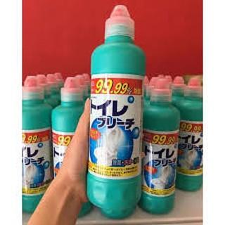🌱Hàng Nhật🌱 Nước tẩy rửa bồn cầu toilet, nhà vệ sinh, Rocket 500ml diệt khuẩn tối đa của Nhật.