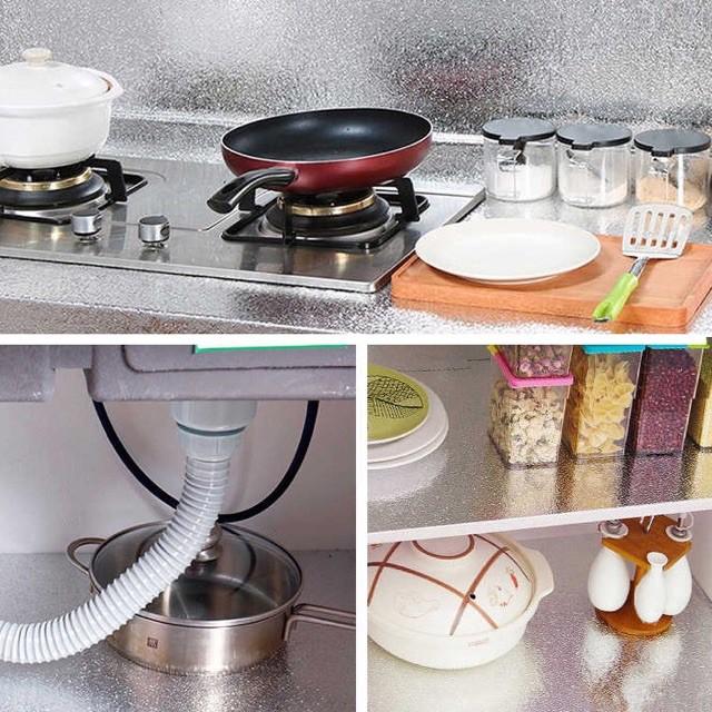 Cuộn giấy bạc dán bếp cách nhiệt chống thấm