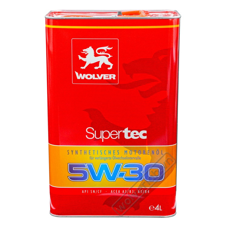 Wolver SuperTec 5W-30 4L_Nhớt động cơ ô Tô cao cấp nhập  Đức