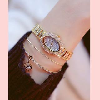 Đồng hồ nữ Bee Sister chính hãng mặt ovan full đá cực xinh thumbnail
