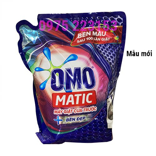 Túi Nước giặt Omo Matic cửa trước 2.7Kg