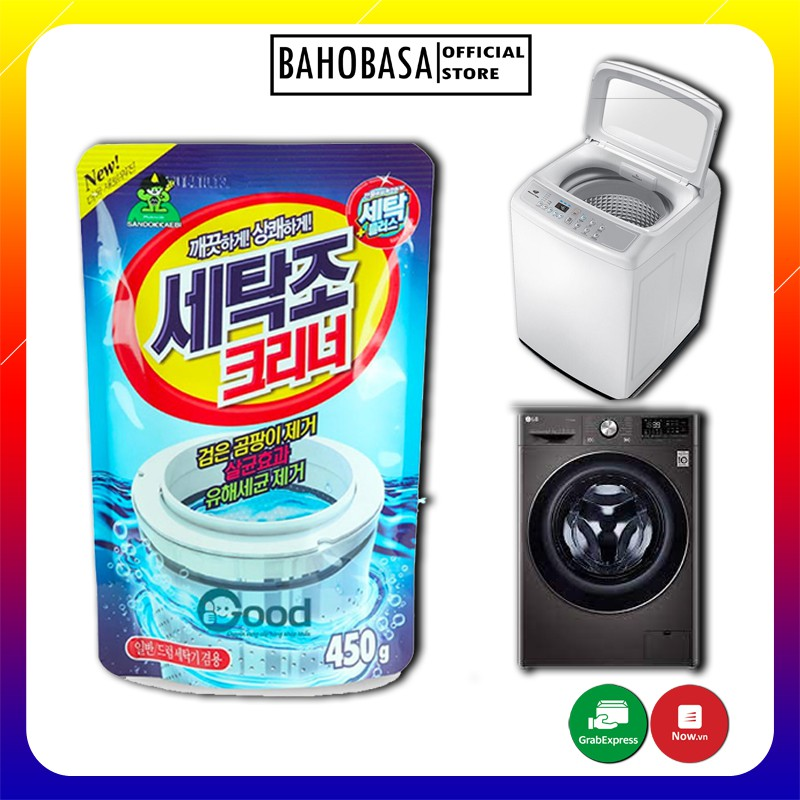 Bột Tẩy Vệ Sinh Lồng Giặt Chính Hãng Hàn Quốc 450G