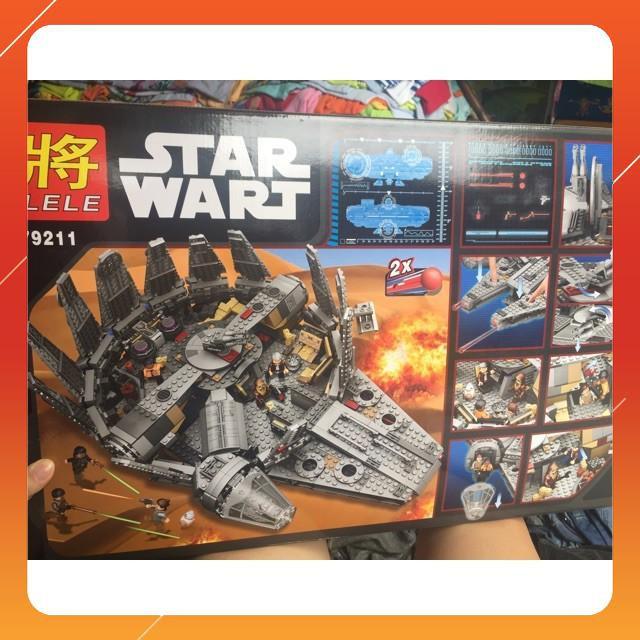[Siêu Sock] Lego Star War Plan lele 79211