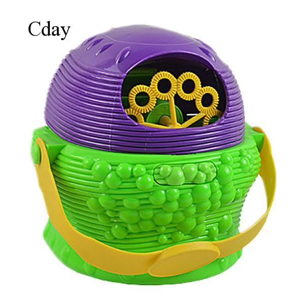 Kids Children Electric Handy Bubble Blowing Toy Machine Gift For Children Day