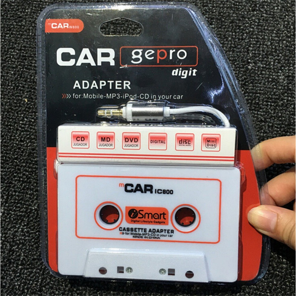 Dây cáp chuyển đổi tín hiệu âm thanh băng cát sét 3.5mm dành cho máy nghe nhạc MP3 / iPhone - 21838183 , 2904661627 , 322_2904661627 , 64383 , Day-cap-chuyen-doi-tin-hieu-am-thanh-bang-cat-set-3.5mm-danh-cho-may-nghe-nhac-MP3--iPhone-322_2904661627 , shopee.vn , Dây cáp chuyển đổi tín hiệu âm thanh băng cát sét 3.5mm dành cho máy nghe nhạc MP