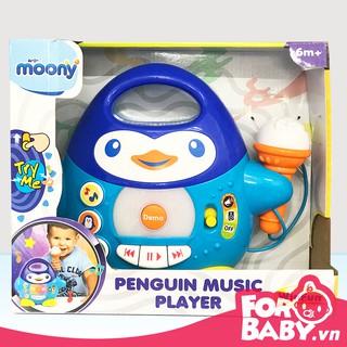 Đàn nhạc chim cánh cụt kèm micro ( Quà tặng Moony )