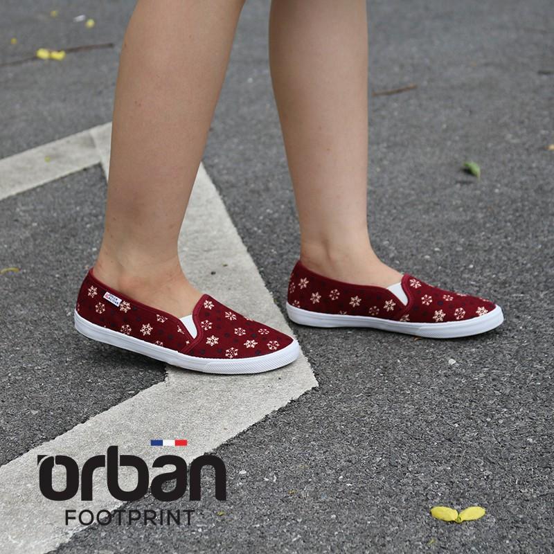 Giày slipon nữ thời trang D&A L1727 đỏ