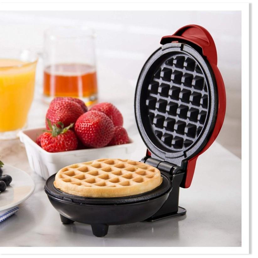 [TẶNG CHỔI QUÉT DẦU] Máy làm bánh - Máy nướng bánh tổ ong DASH chống dính cao cấp 8409