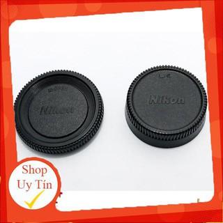 Nắp body Nikon và nắp sau lens (cap body, cap sau Nikon)