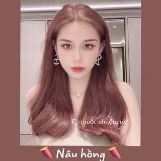 [KHÔNG TẨY] Thuốc nhuộm tóc Hàn Quốc màu Nâu Hồng thumbnail