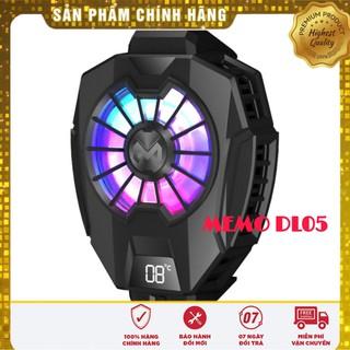 MEMO DL05 QUẠT TẢN NHIỆT SÒ LẠNH cho điện thoại, Màn hình LED hiển thị nhiệt độ, LED RGB thumbnail